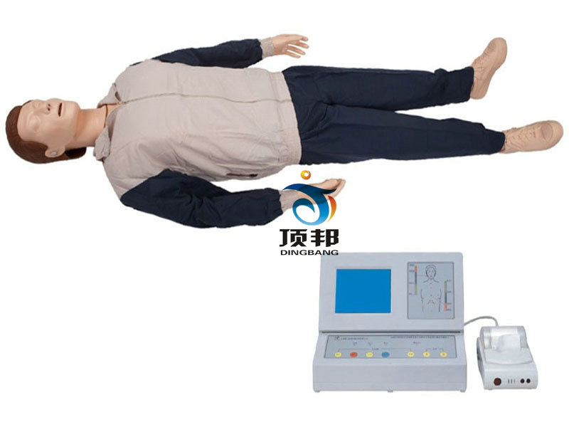 大屏幕液晶彩显高级全自动电脑心肺复苏模拟人