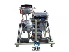 油电混合动力汽车动力系统解剖演示台