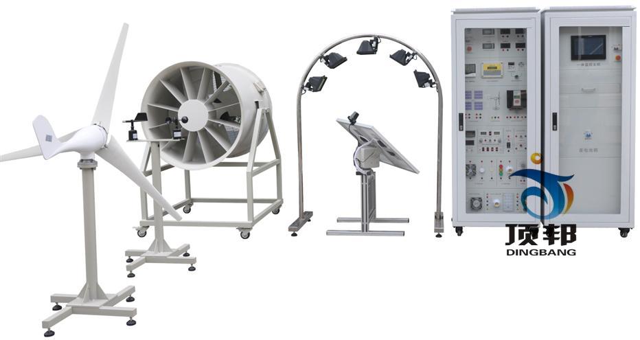 风光互补离(并)风发电实训系统