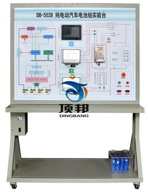 纯电动汽车电池组实验台