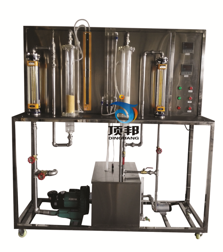 固体流态化演示实验装置