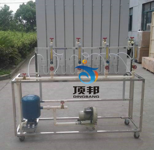 燃气管网水力工况实验台